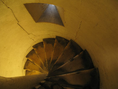 St Vedast alias Foster Tower Stairwell leading up to Bells