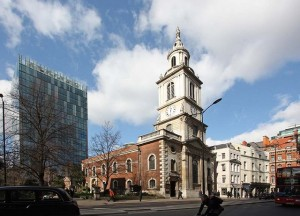 St Vedast-alias-Foster's sister church, St Botolph without Bishopsgate.