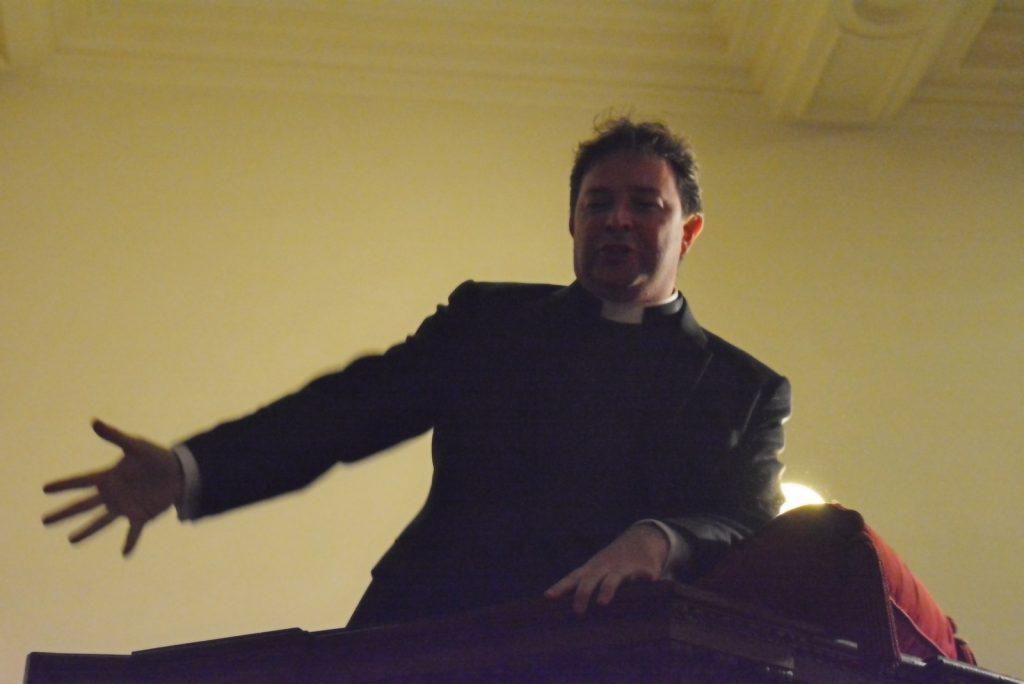 Evensong for Rev Dr Alan McCormack - October 2015